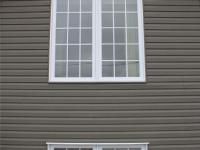 PVC Casement Windows with grids