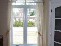 PVC Casement window with grids and transom
