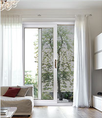Porte patio dans le salon