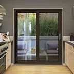 Orchestra patio door